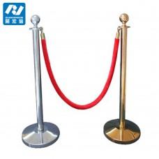 Метален стопер с въже - 95 cm (въже 150 см) златен/инокс