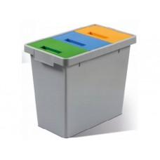 Пластмасов кош за разделно събиране на опаковки ПОЛИМАКС