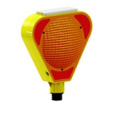 Соларна предупредителна лампа - Жълта
