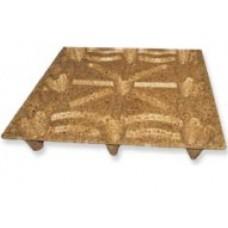 Екопресовани дървени палети, 1140 х 1140 mm